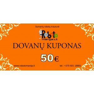 20 eurų vertės kuponas