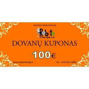 100 eurų vertės kuponas