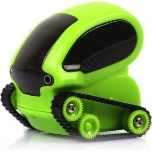 Микро-робот DeskPets Танкбот, цвет зеленый